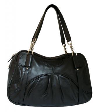 Летняя женская сумка Leo Ventoni, выполненная из натуральной кожи.