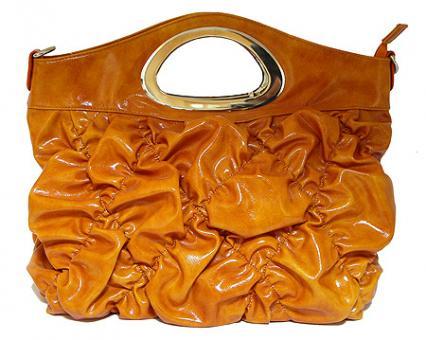 Женская сумка из искусственной кожи 88011_orange